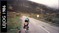 Land's End to John 'O Groats 1986
