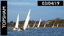 Topsham Sailing 3rd April 2019