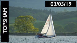 Topsham Sailing, 3rd May 2019